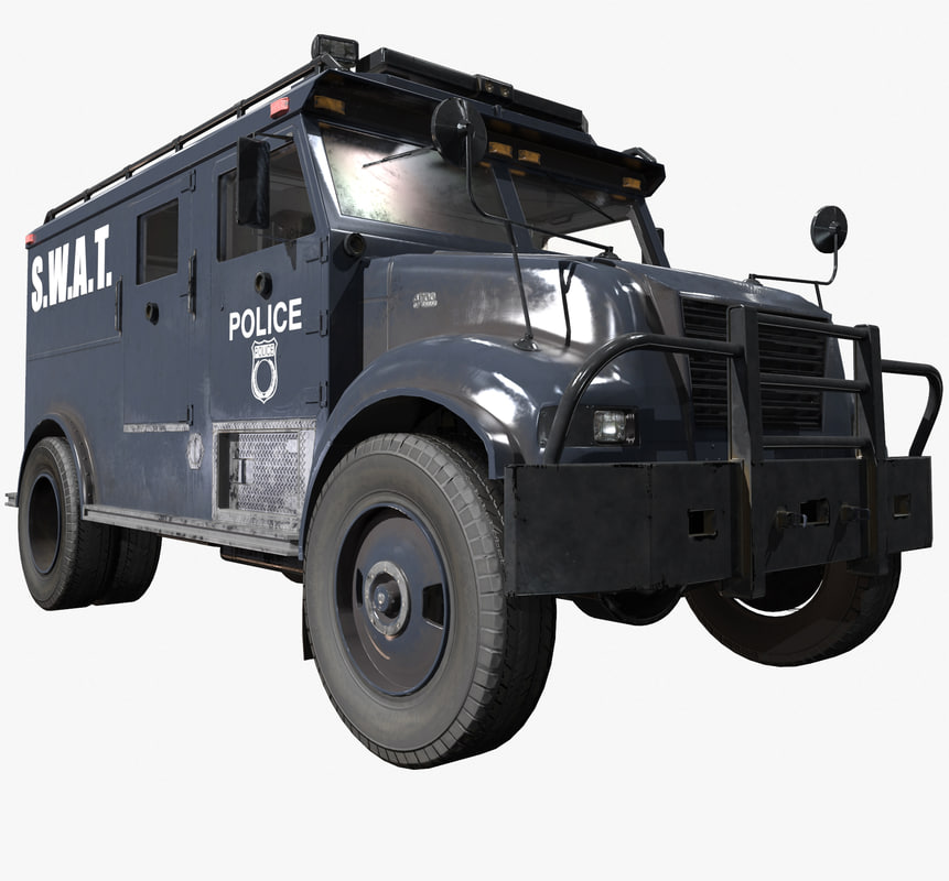 SWAT Truck - Game Ready