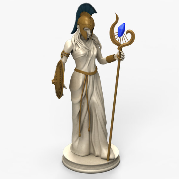 Mage Statue 3D Models