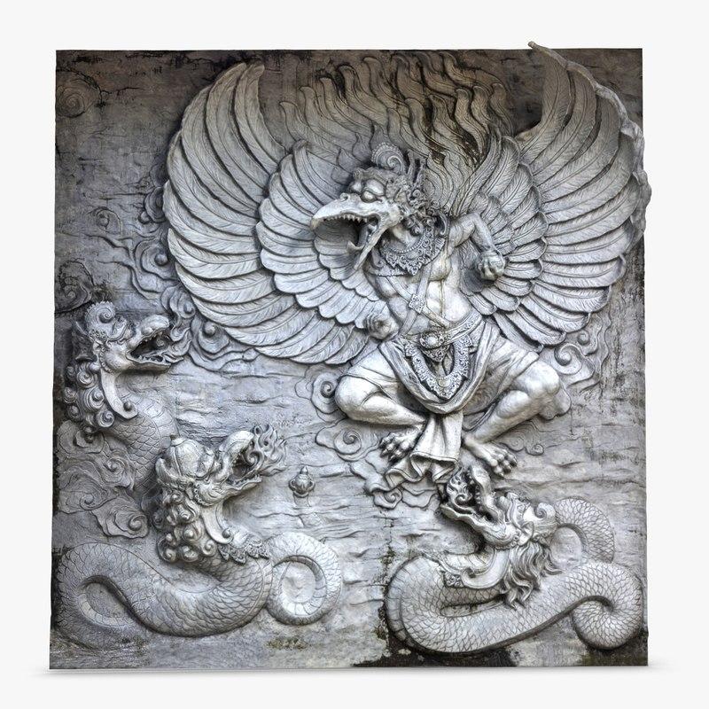 Bas Relief Garuda Bali