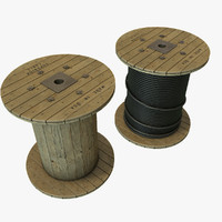cable reel 3D models