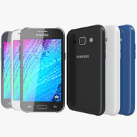 Samsung Galaxy J1 3D models