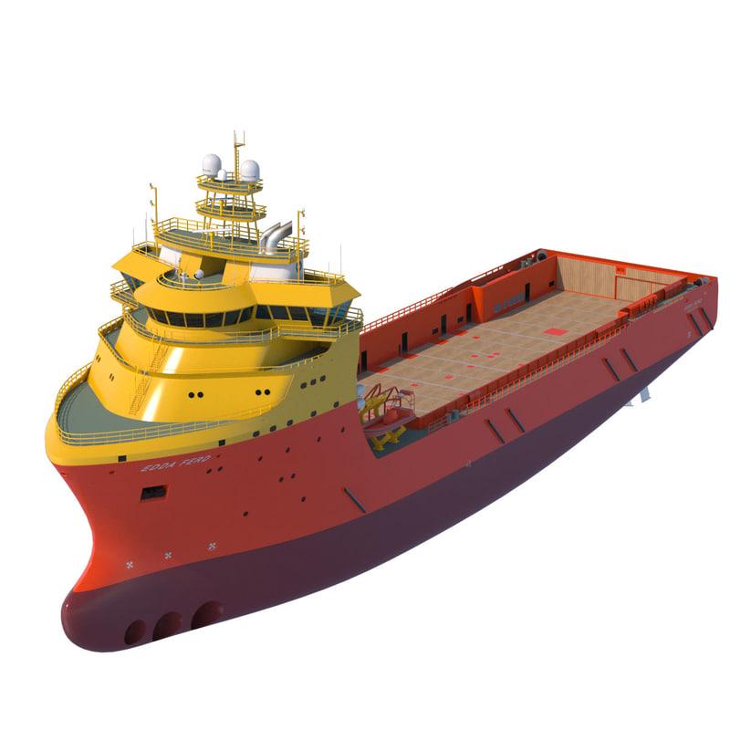 92 m. Platform Supply Vessel EDDA FERD