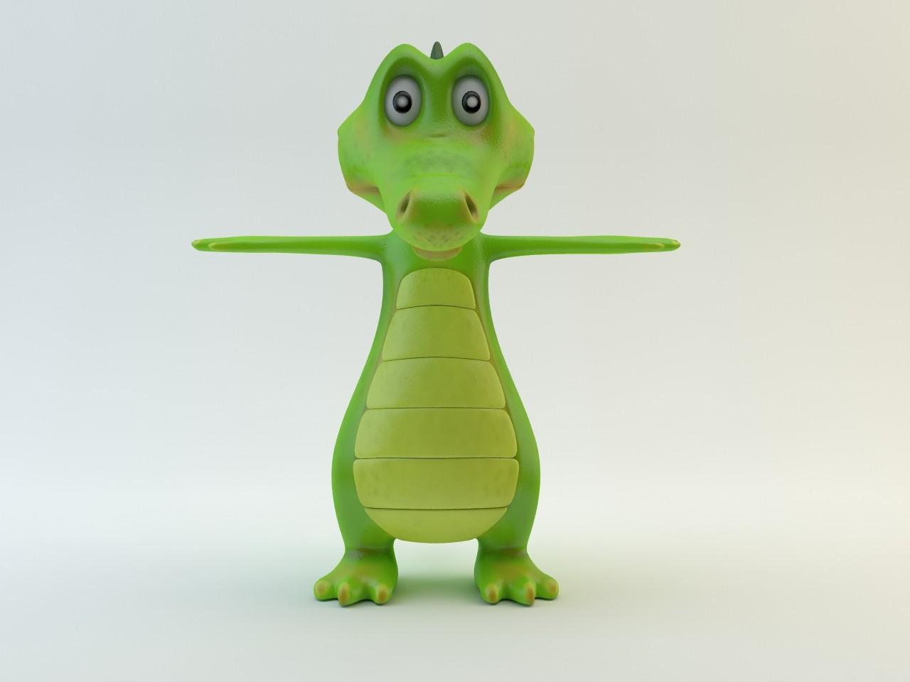 toon crocodile