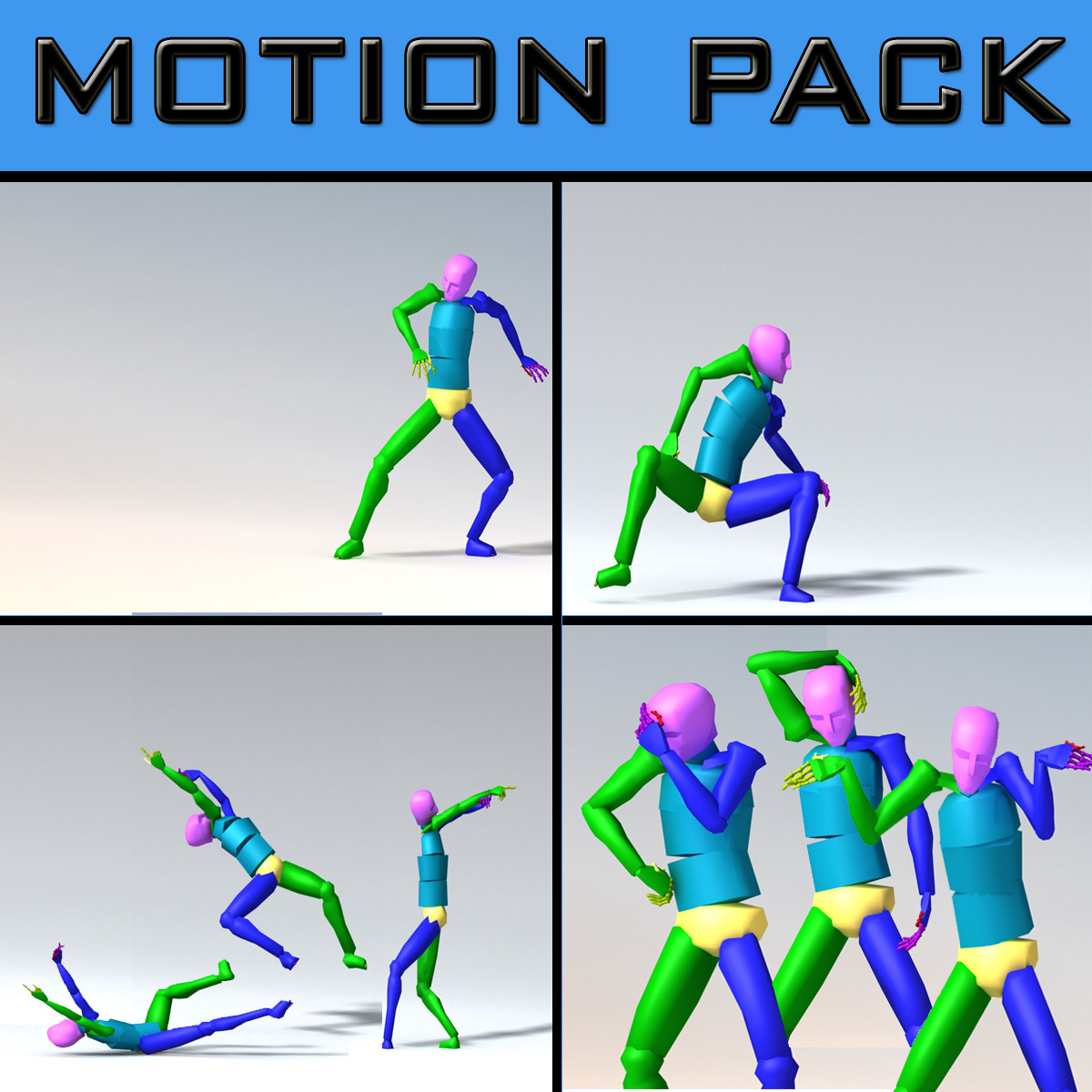MULTIPLE MOTIONS ANIMATION