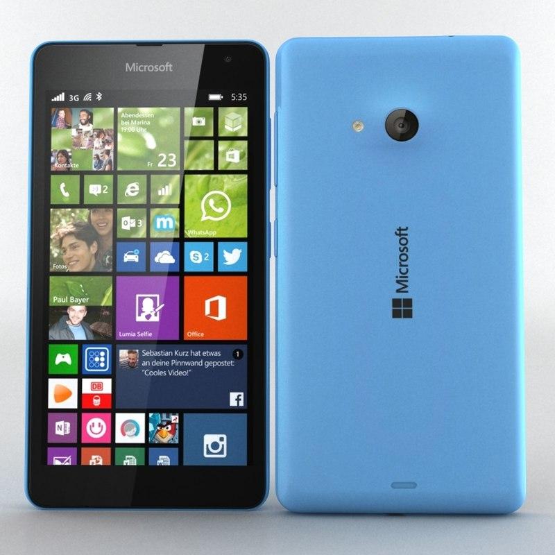 Microsoft Lumia 535 / Dual SIM blue