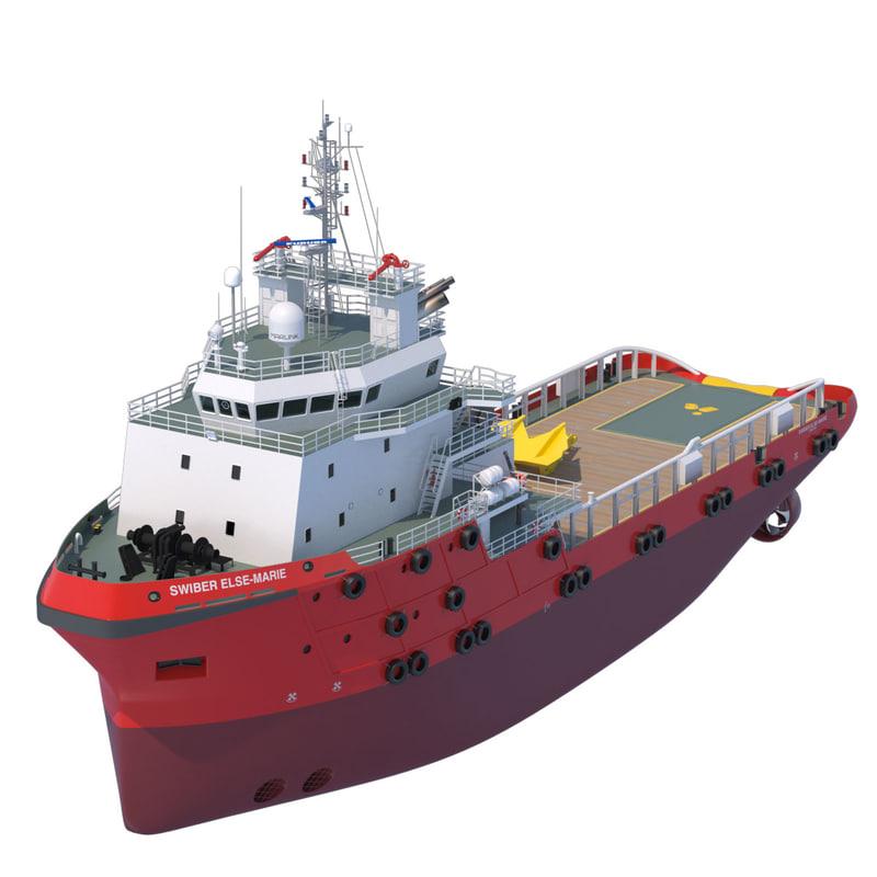 70 m. AHTS Anchor Handling Tug/Supply