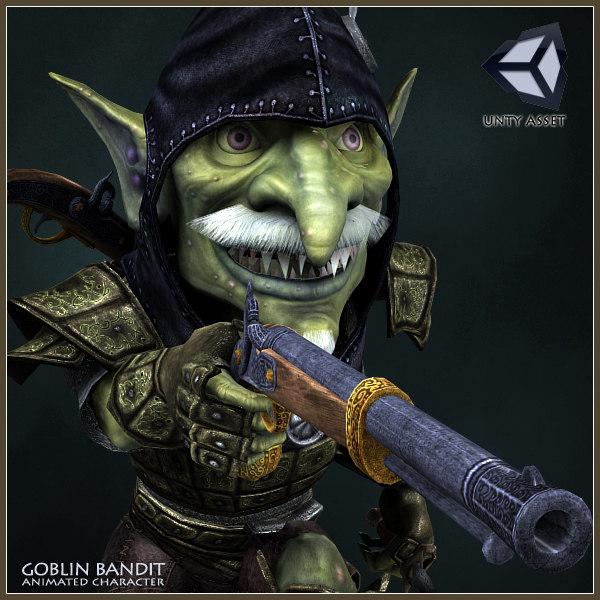 Goblin Bandit Animated Character