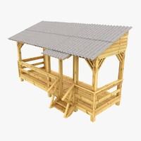 building deck 3D models