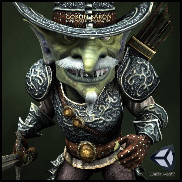 Goblin Baron Animated Character
