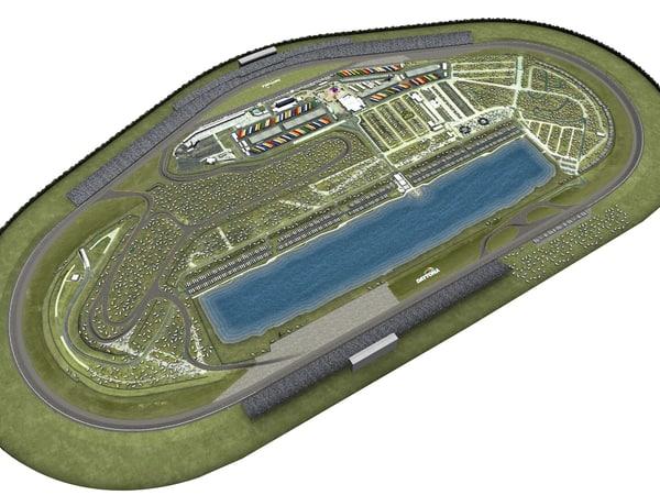 Daytona Speedway 3D Models