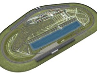 nascar racetrack 3D models
