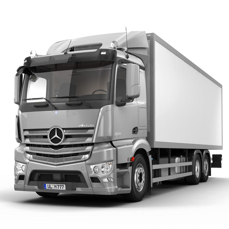 Mercedes Antos 6X2 VAN