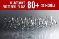 shot glass 3D models