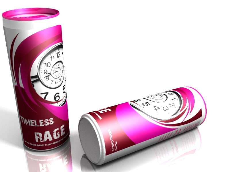 Timeless Rage Energy Drink