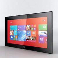 nokia lumia 2520 3D models