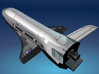 Boeing X-37 3D models