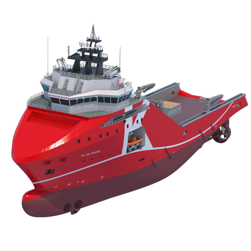 95 m. AHTS Supply Vessel KL SALTFJORD