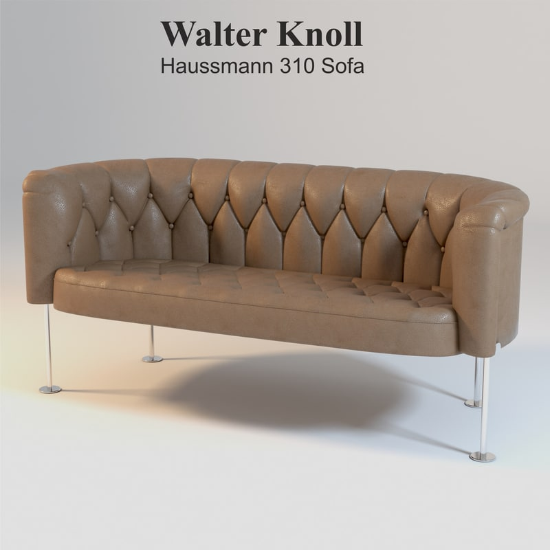 walter knoll haussmann 310 3d model. Black Bedroom Furniture Sets. Home Design Ideas