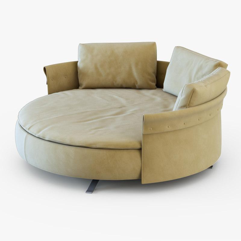 03 file formats fbx obj italian furniture longhi beautiful renderings - Obj Sofa Longhi