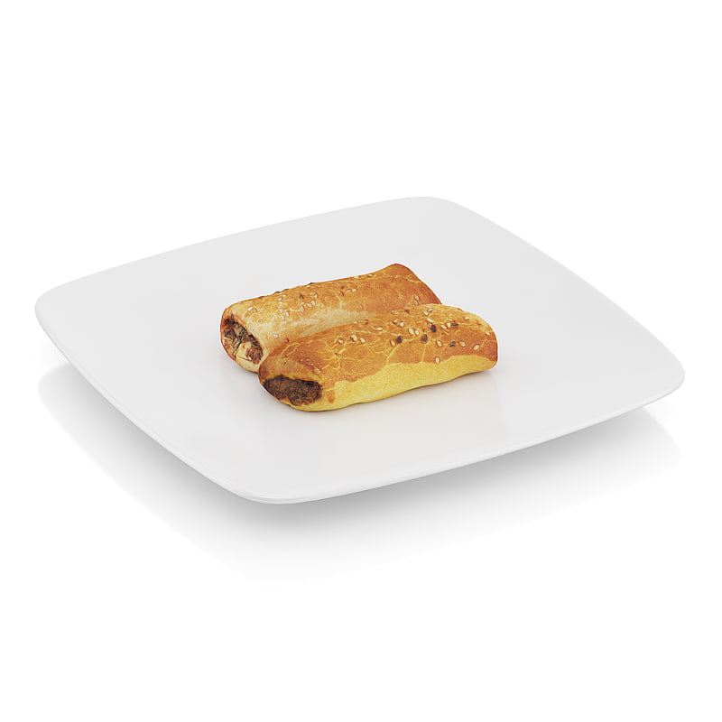 Pastry with meat