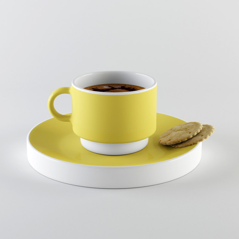 Coffee Cup & Cookie