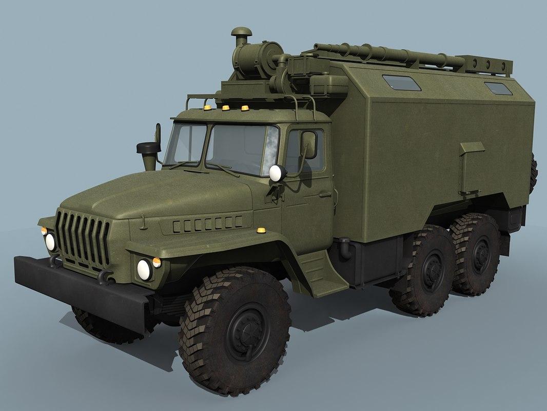 Ural-43203 Command vehicle