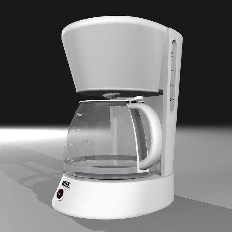 Coffee Maker 3d C4d