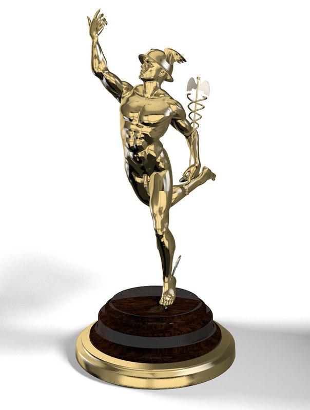 Hermes Statuette