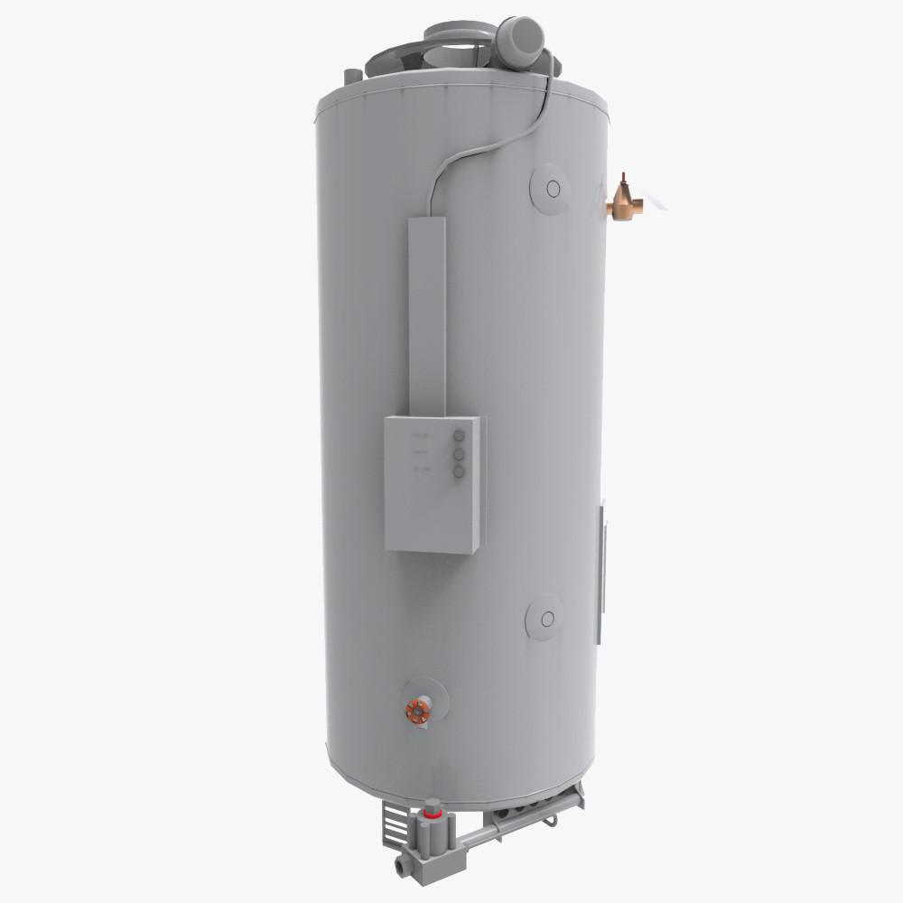 Water Boiler Model ~ Water heater d model