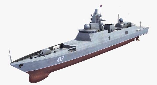 Admiral Gorshkov FF 3D Models