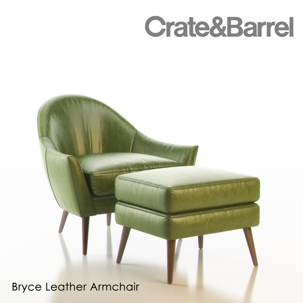 Bryce Leather Arm Chair Texture Maps