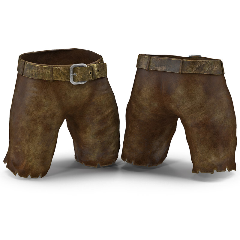 Medieval Leather Shorts 3d model 01.jpg