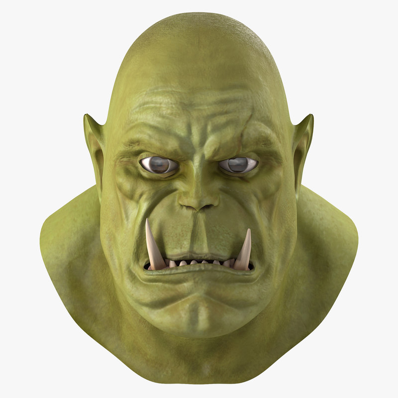 3ds max orc head