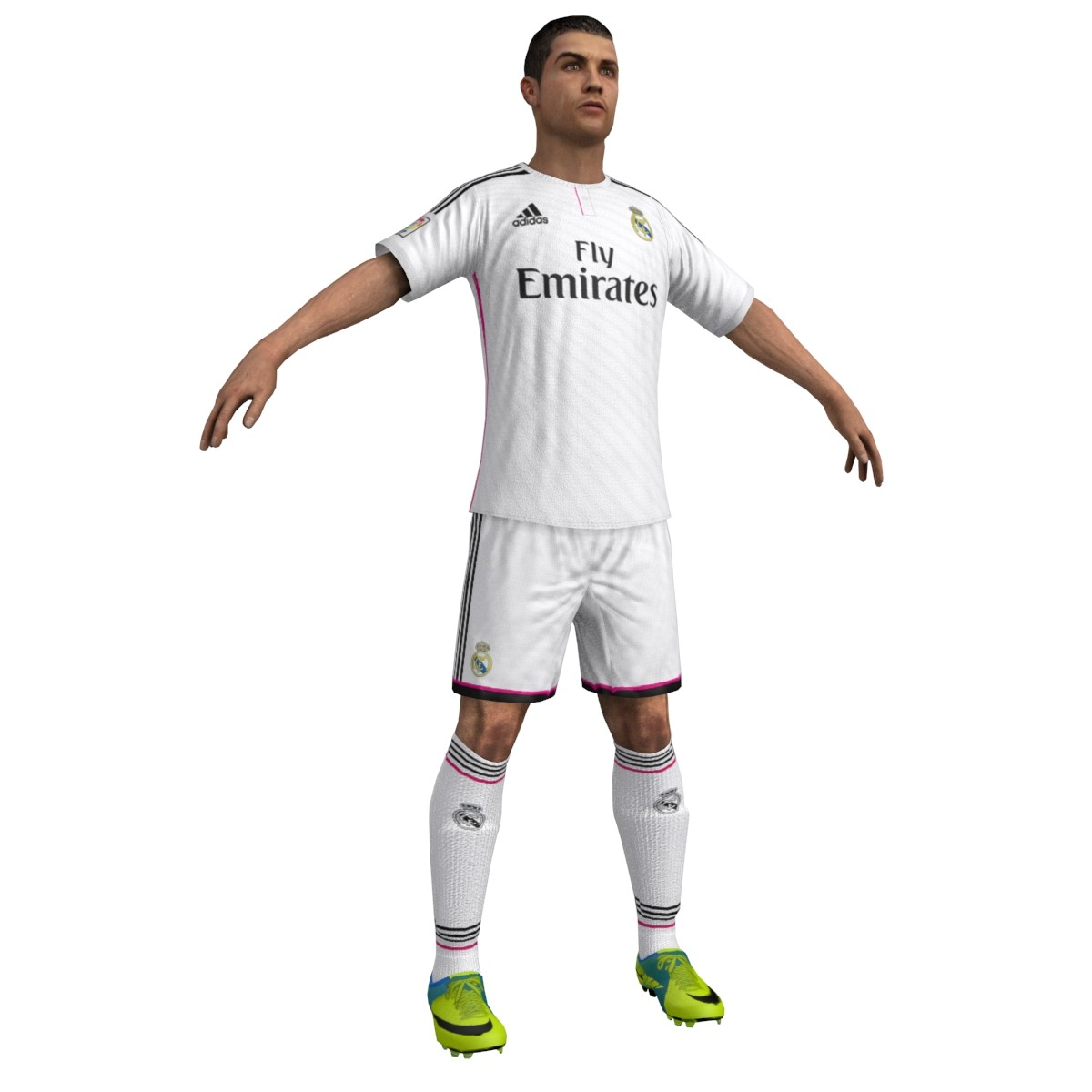 3d model cristiano ready player
