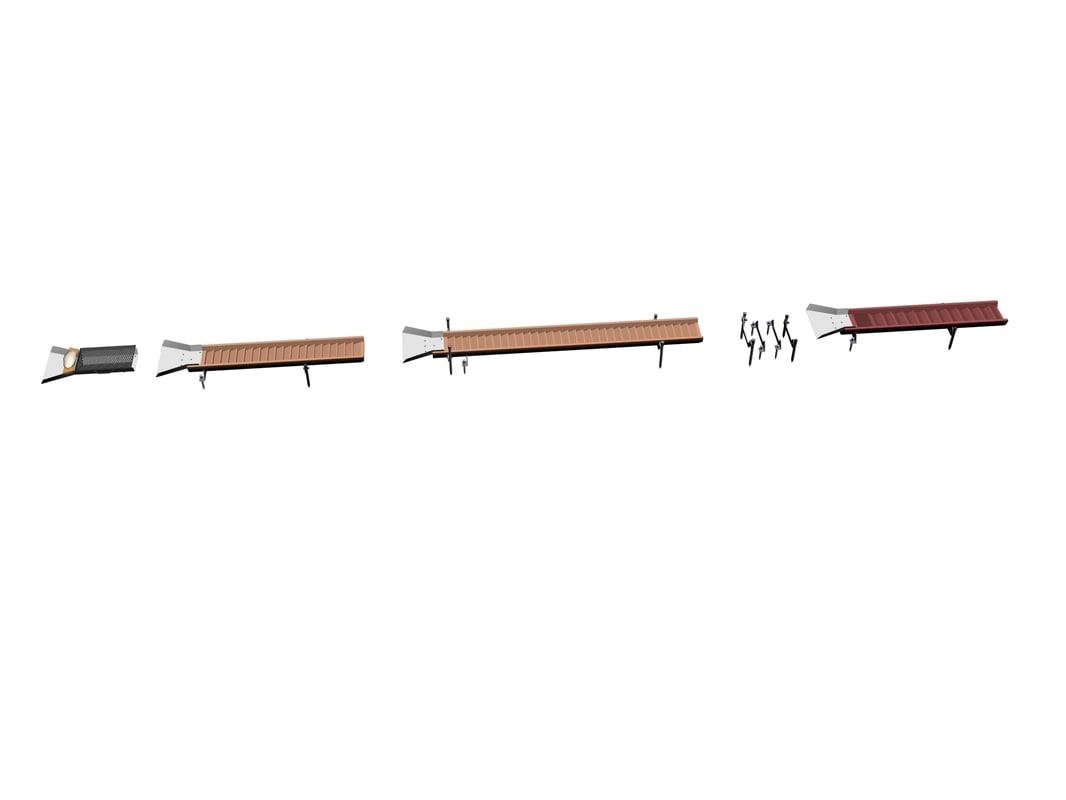 Drag Dredge Wood-Steel