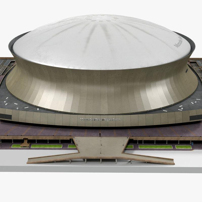 Mercedes Benz Superdome 3d model 00.jpg