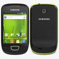 Samsung Galaxy Mini 3D models