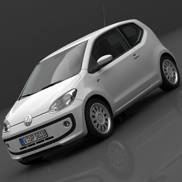 Volkswagen up! 2013 3D Models
