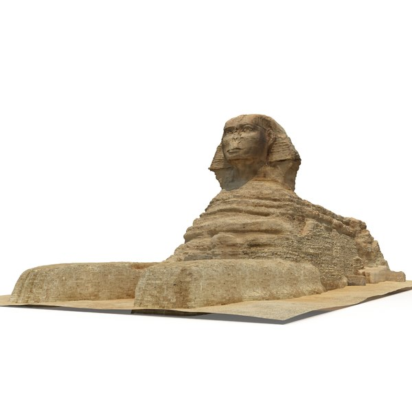 Great Sphinx of Giza 3D Models