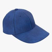 baseball cap 3D models