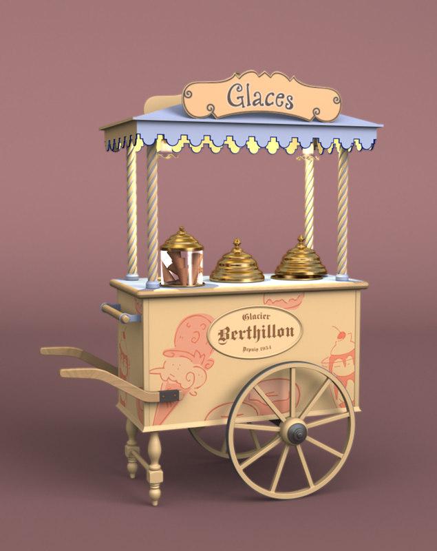 Ice Cream Cart [French]
