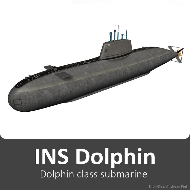 INS Dolphin - Dolphin class submarine