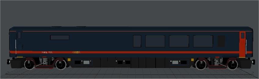 GNER MK4 Buffet Passenger Coach