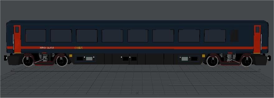 Coach MK4 GNER First Class