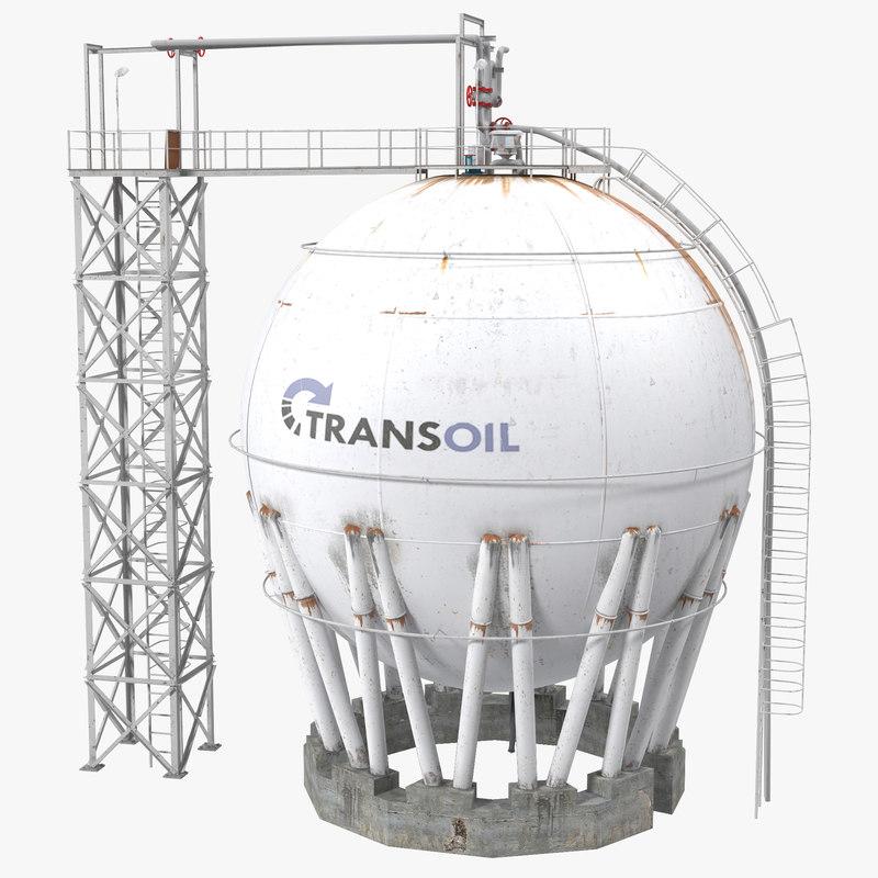 Oil Tank 3d model 00.jpg