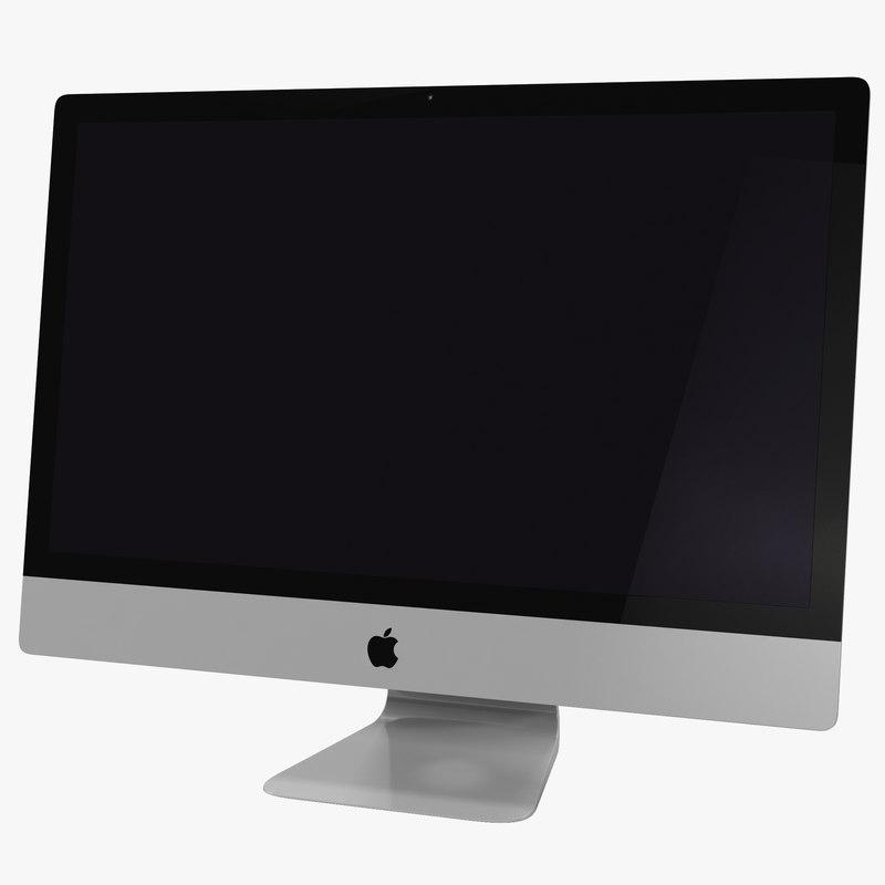 Apple iMac 27 inch 3d model 00.jpg