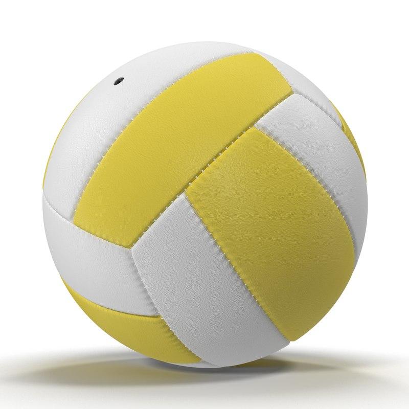 Volleyball Ball 3d model 3 01.jpg