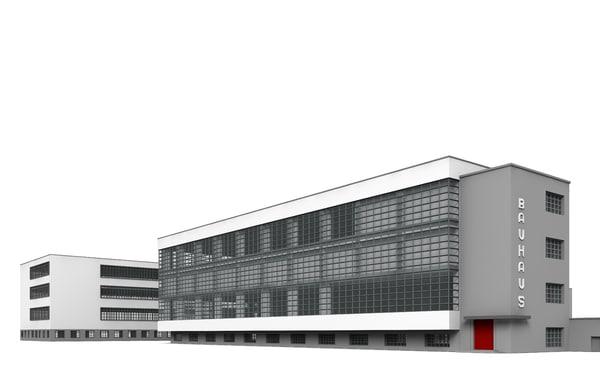 Bauhaus Dessau 3D Models