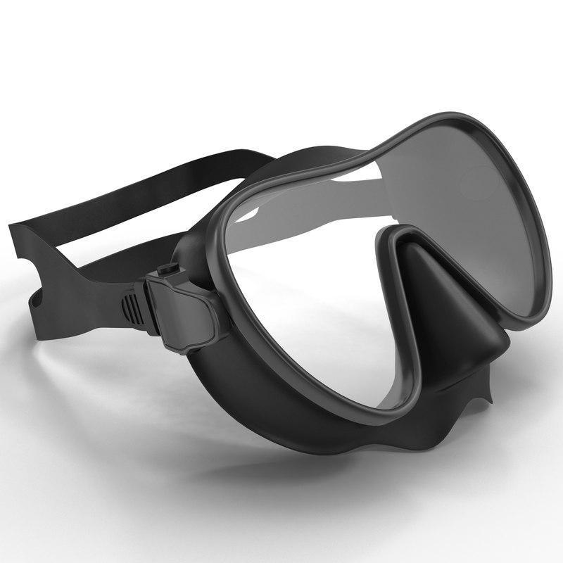 Scuba Mask 3d model 01.jpg