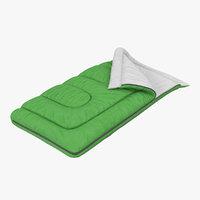 sleeping bag 3D models